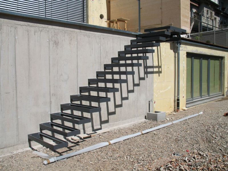 deurer metallbau remchingen treppen gel nder. Black Bedroom Furniture Sets. Home Design Ideas
